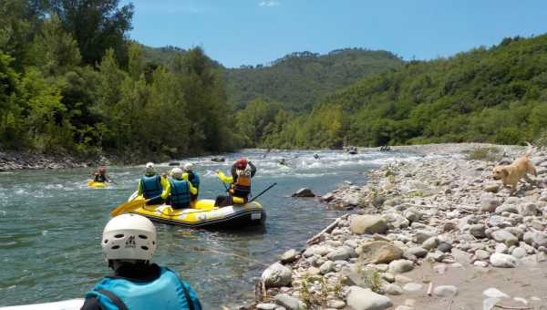 Which is the best time to do rafting?