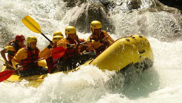 The best rivers where you can do rafting in Italy