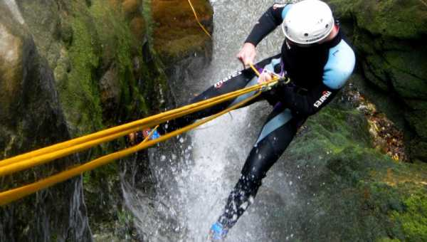 Where to practice canyoning in Italy