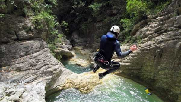 Dove praticare canyoning in Umbria