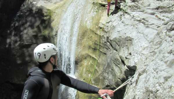 What is canyoning and how do you practice it?