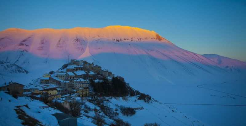 Norcia and Sibillini Mountains