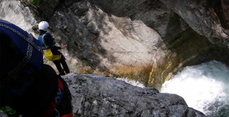 Canyoning Monrosa Piemonte