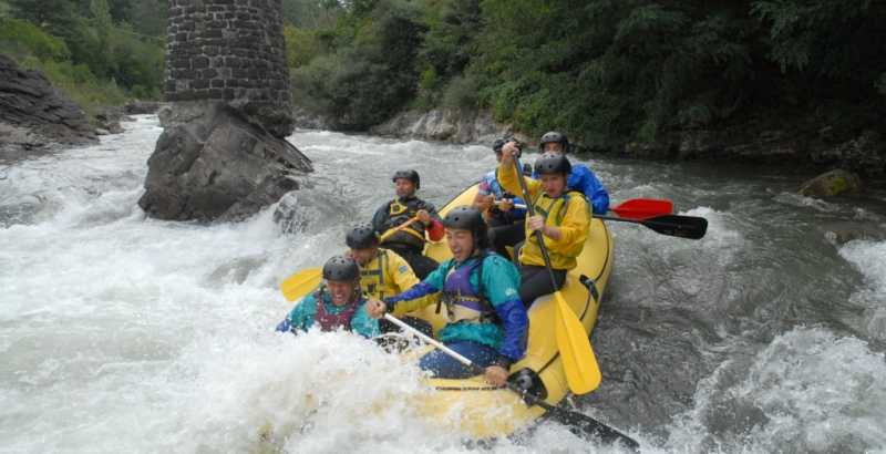 SOFT RAFTING AND GORGE WALKING - GORGES OF RIVER LIMA