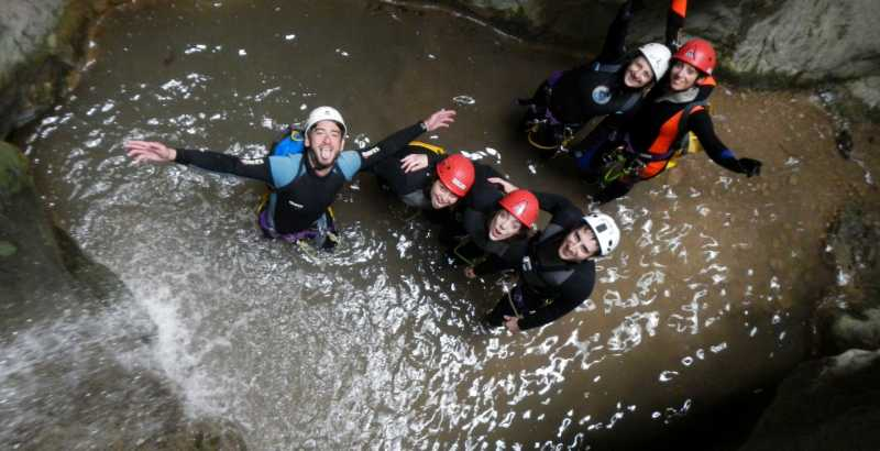 Canyoning Forra di Roccagelli