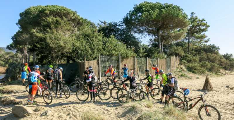 Tre giorni a Punta Ala in Mountain Bike