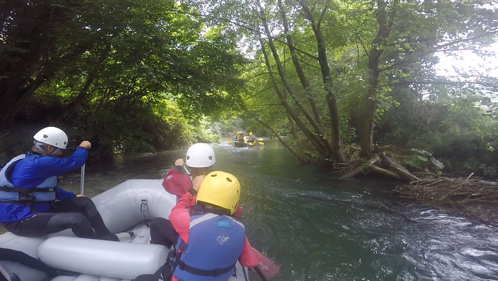 The best places to go rafting in Umbria