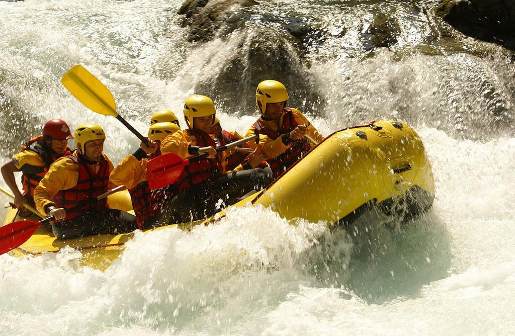 Rafting: che cos'è e come si fa