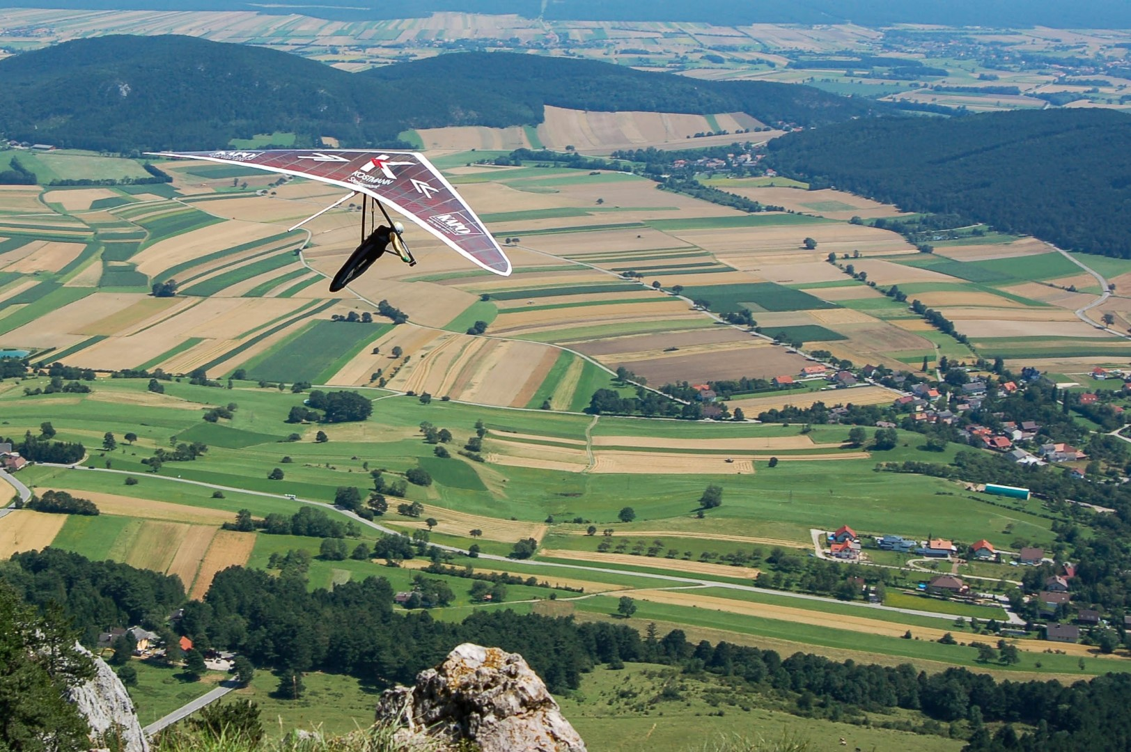 How it is done and how to operate the hang glider
