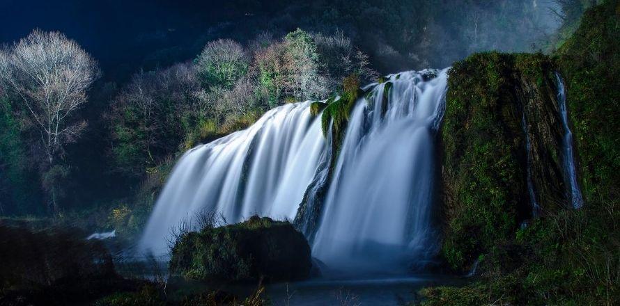 The secrets of Marmore Falls
