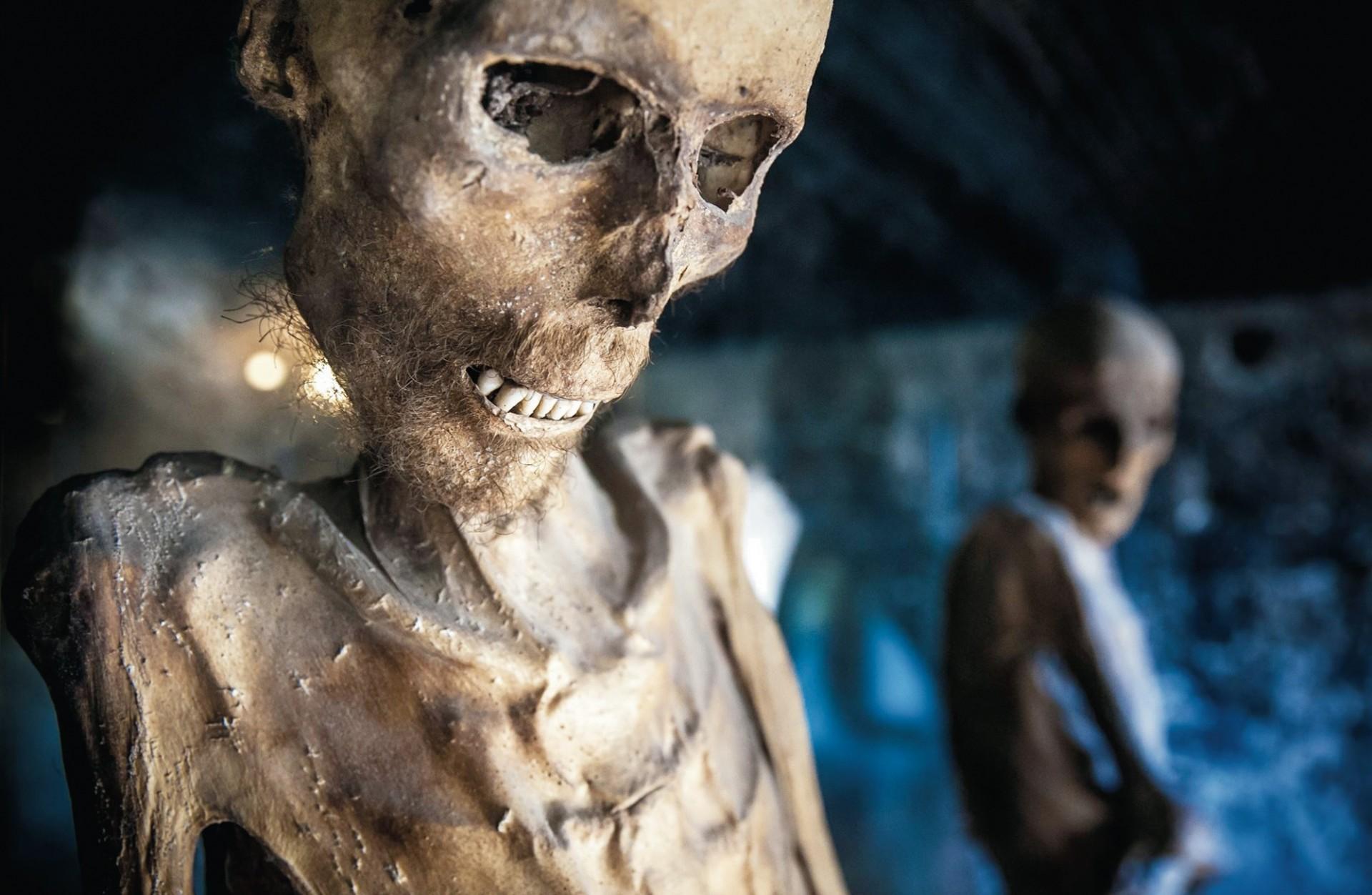 Ferentillo: il Museo delle Mummie e l'Abbazia di San Pietro in Valle