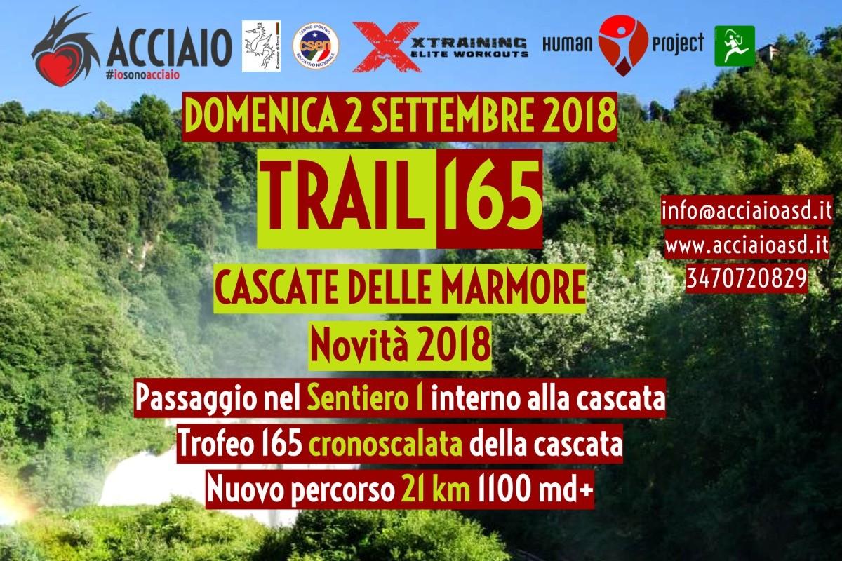 TRAIL165 - Marmore falls