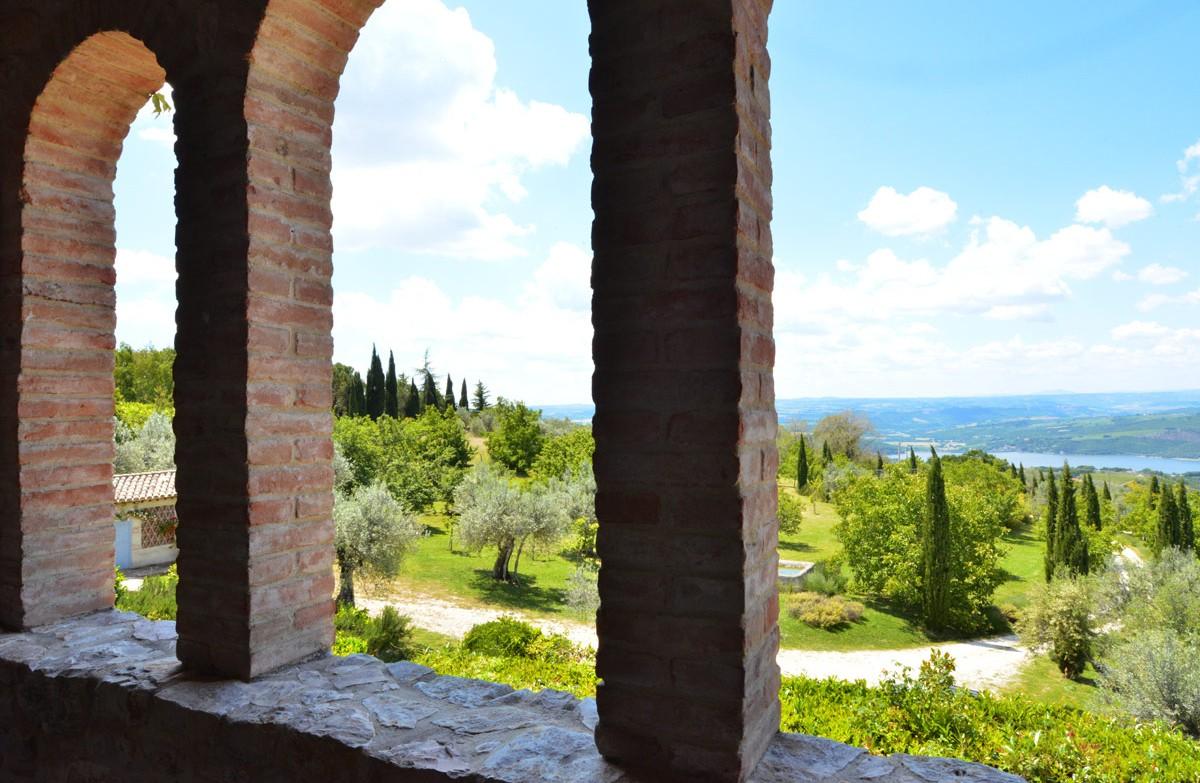 Vacanza esclusiva sulle colline della valle del Tevere