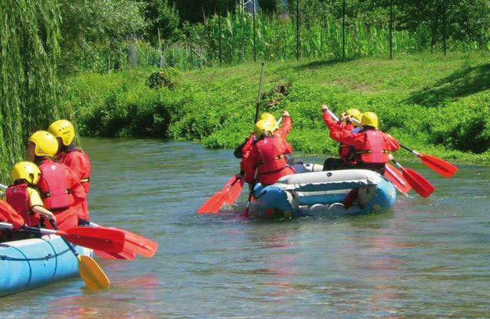 All sport: Trekking and soft Rafting!