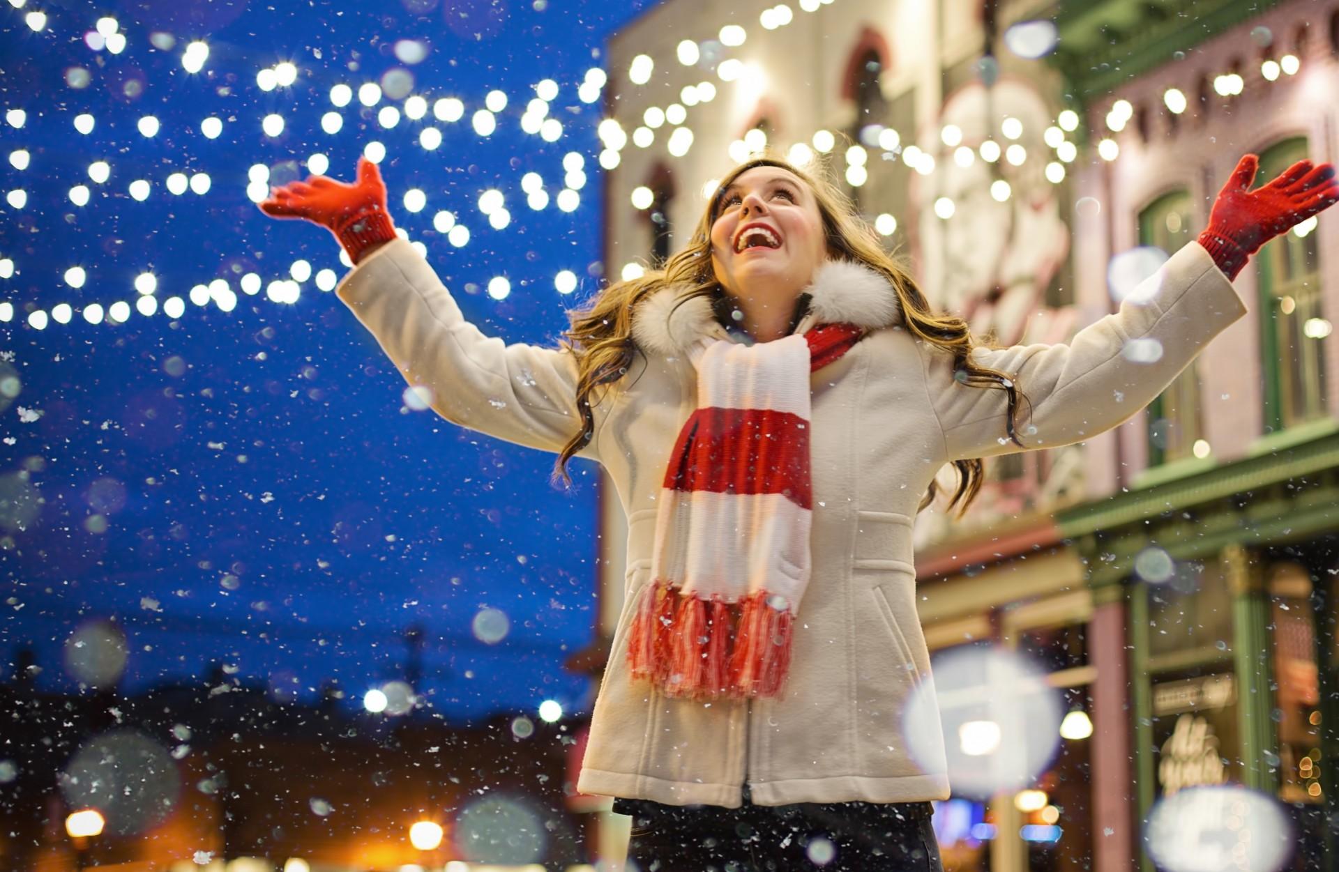 Luci e colori di Natale a Gubbio