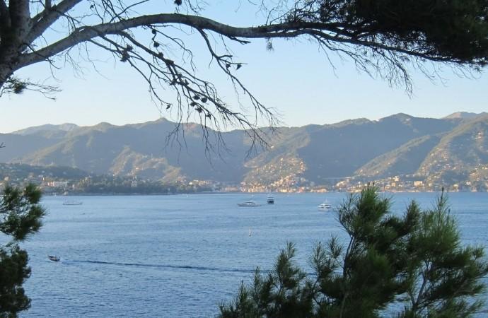 Sunset paddling al Faro di Portofino
