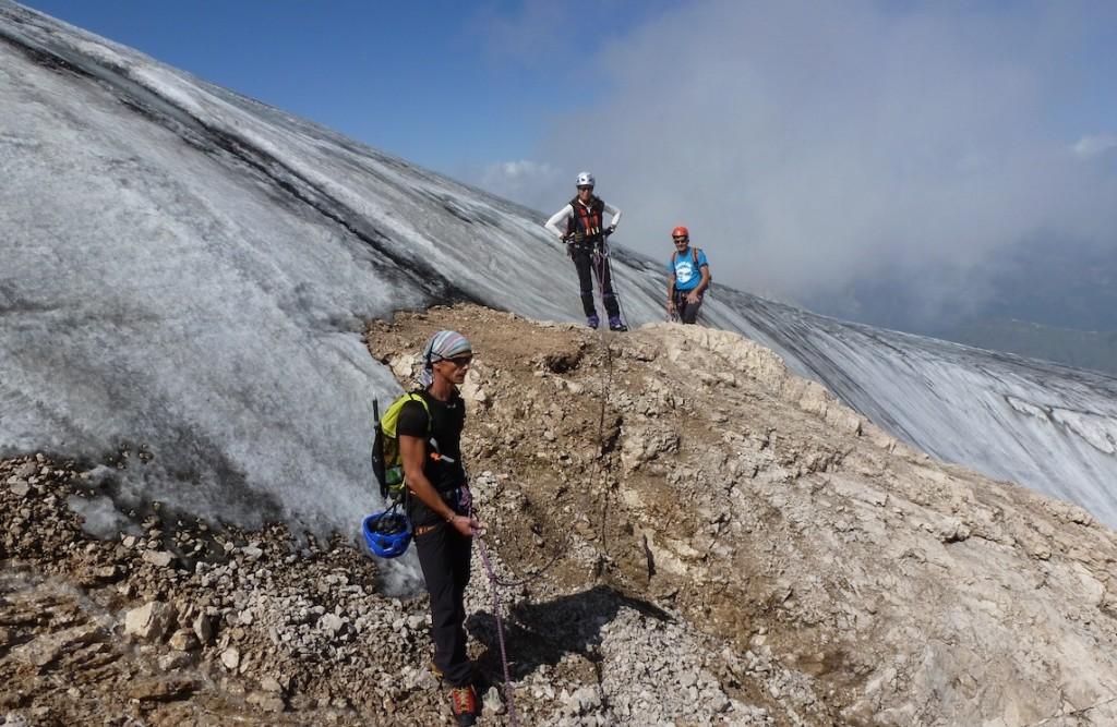 Via Ferrata Cresta Ovest - Marmolada - Dolomiti - Trentino