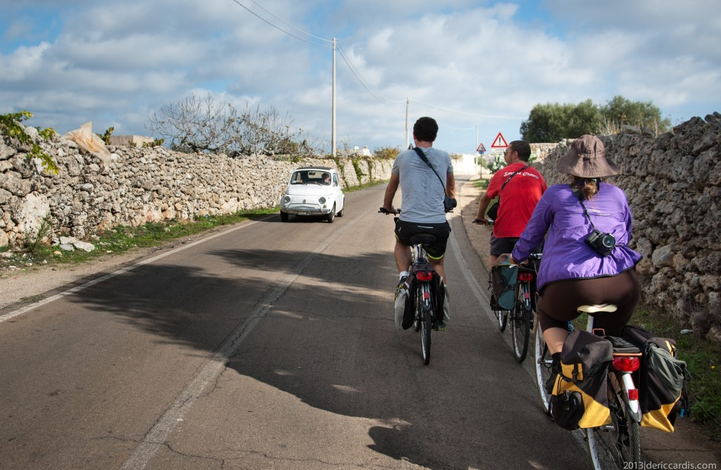 L'entroterra di Gallipoli in Trekking bike