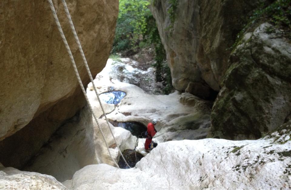 Canyoning Monte Subasio - Fosso del Marchetto