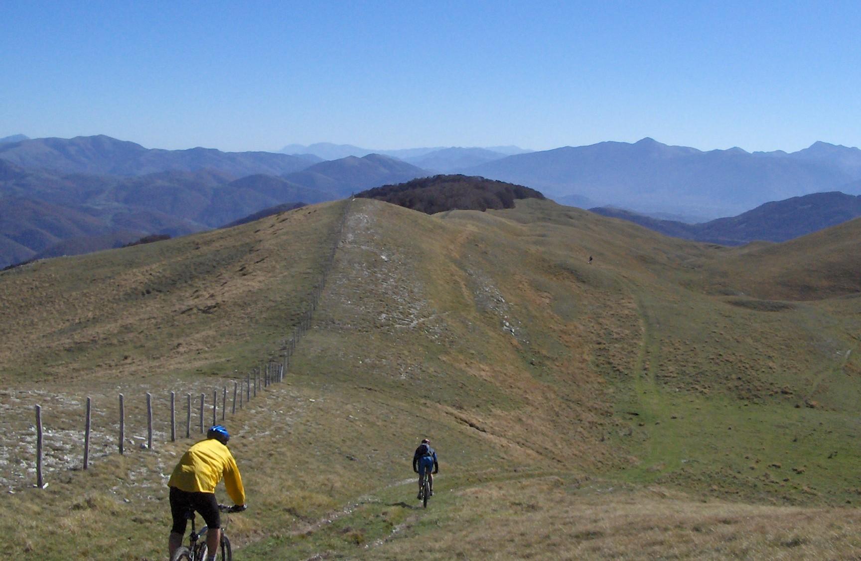 Mountain bike - Parco Nazionale dei monti Sibillini - giornata intera