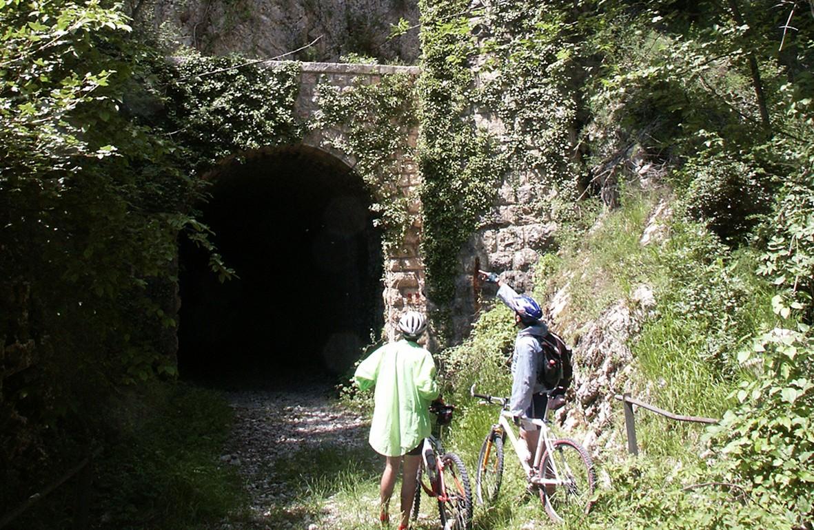 Mountain Bike - Vecchia Ferrovia Spoleto - Norcia