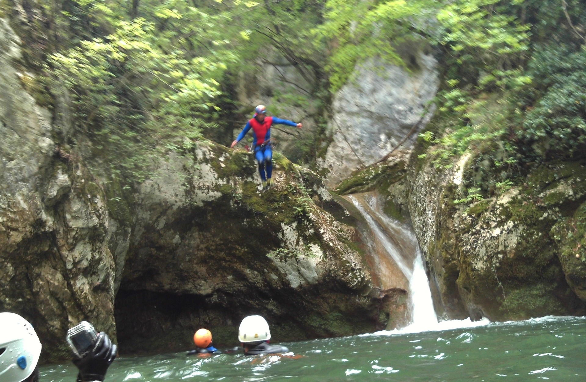 Canyoning Fosso di Riancoli