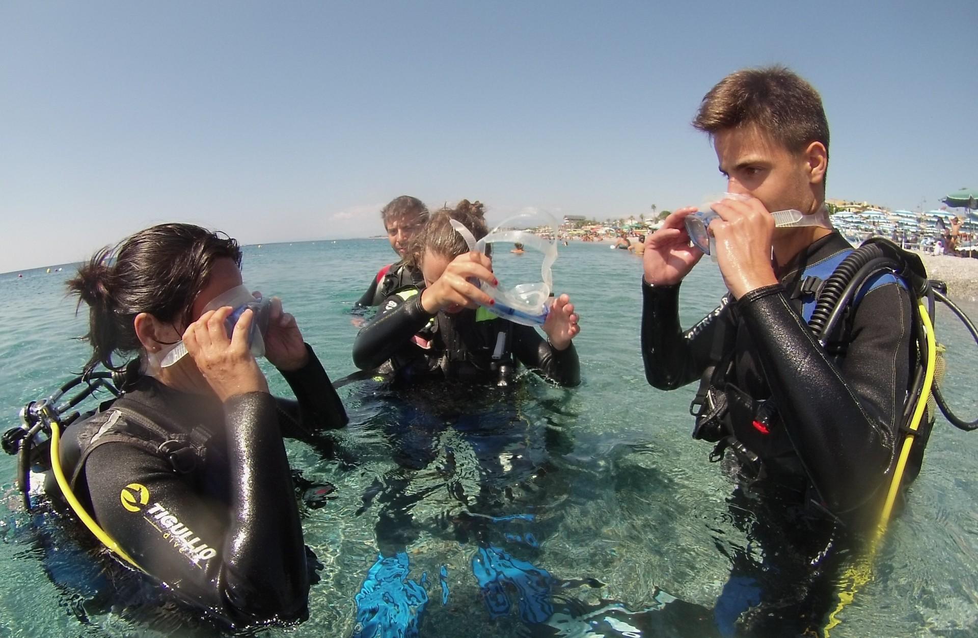 Discover Scuba Diving, la tua prima esperienza subacquea