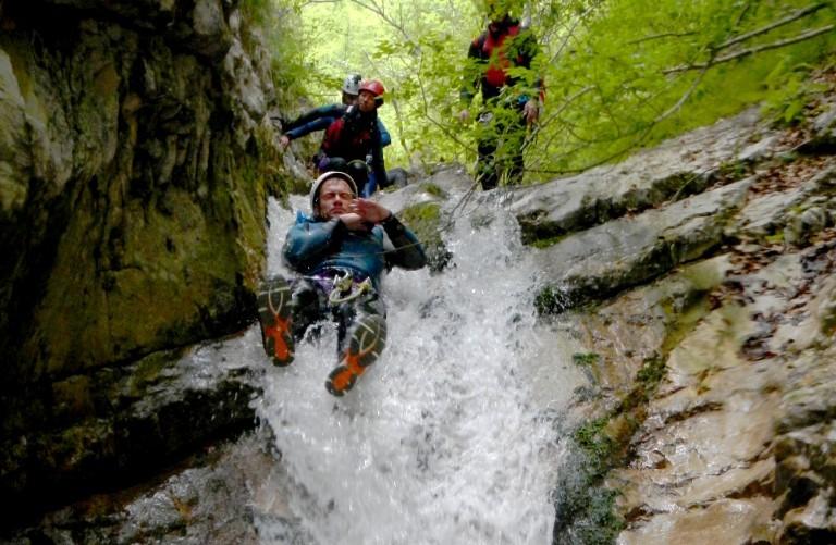 Canyoning Pago Le Fosse