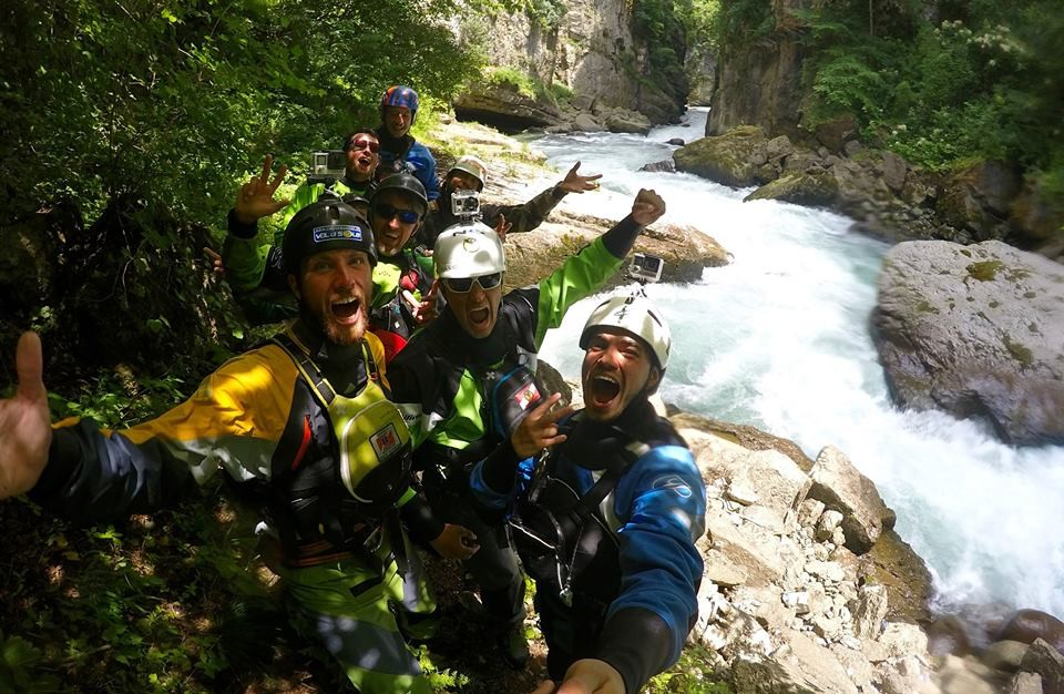 Canyoning San Biagio Val di Sole - Trentino Alto Adige