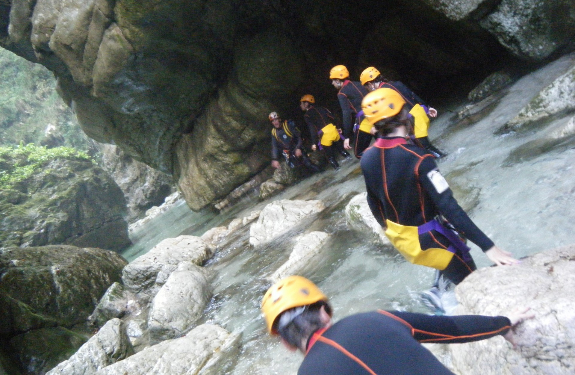 Canyoning Torrente Torna - Parco Nazionale del Cilento