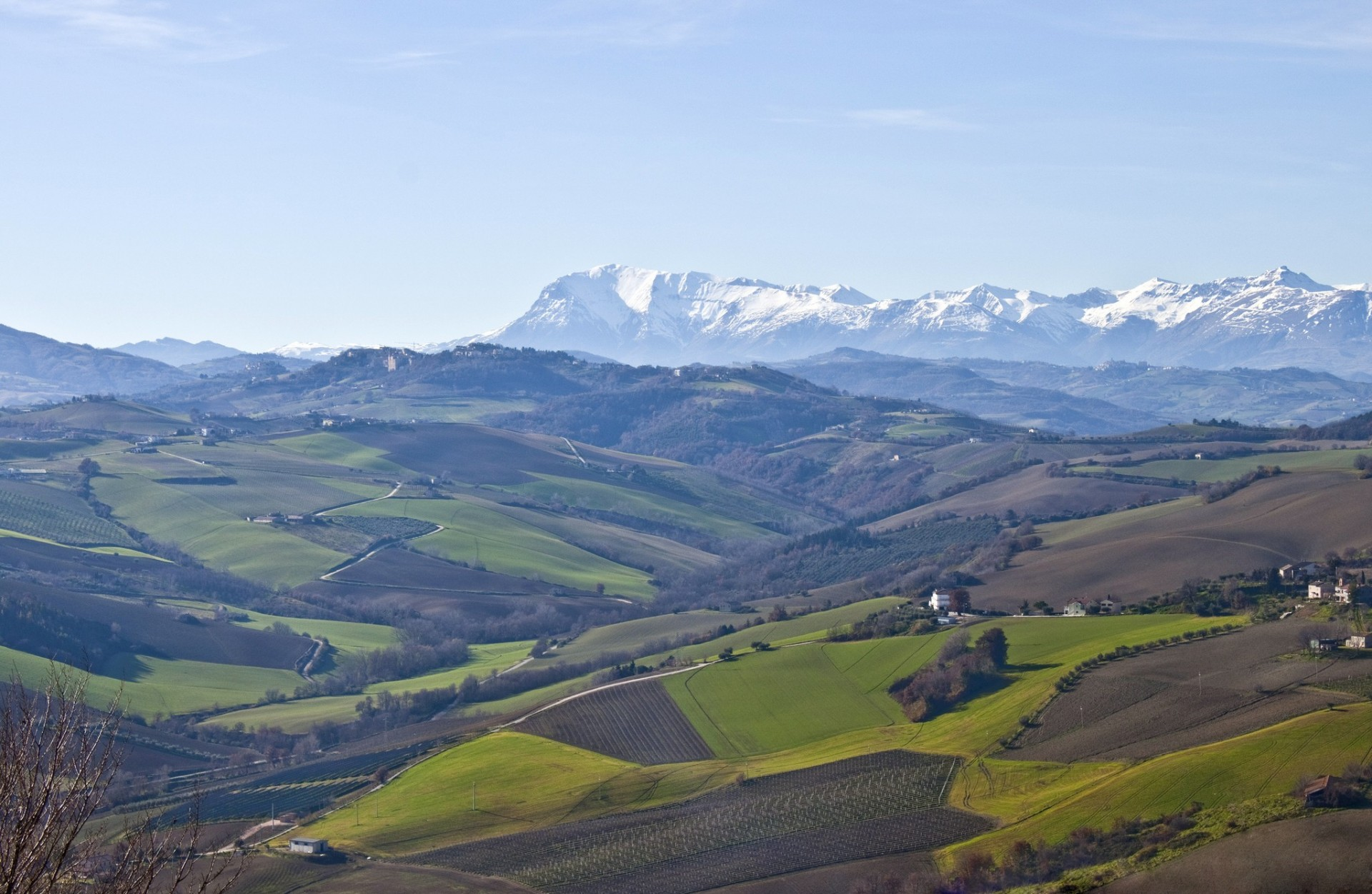 Lungo gli antichi confini di Stato: l'antica Dogana di Salto del Cieco e il Monte Aspra
