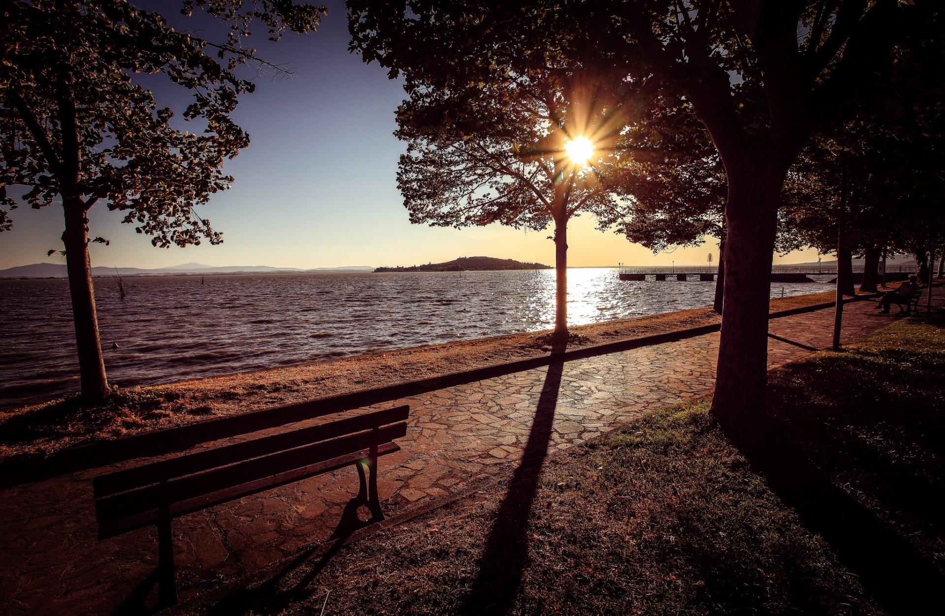 Lago Trasimeno: itinerario selvaggio, itinerario panoramico, itinerario storico