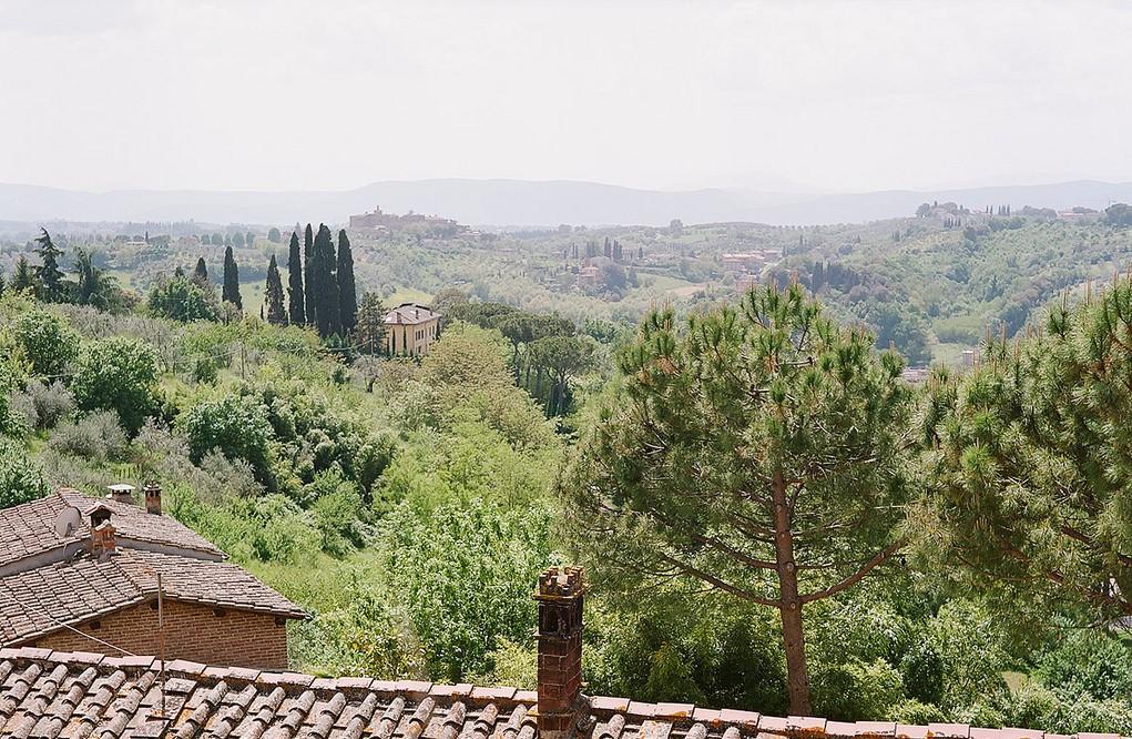 Trekking intorno a Siena - I borghi della Montagnola Senese