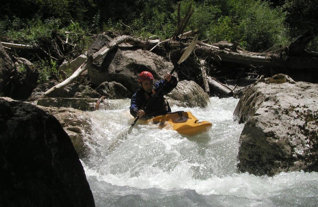 Canoa Pneumatica sul Fiume Corno