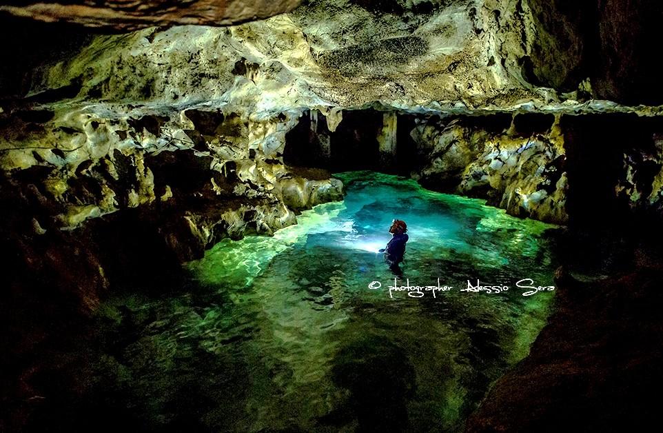 Escursione speleologica Grotta Punta degli Stretti