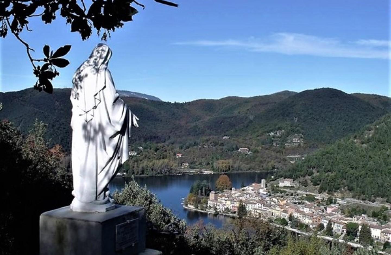 Nordic Walking alla Madonna dell'Eco di Piediluco