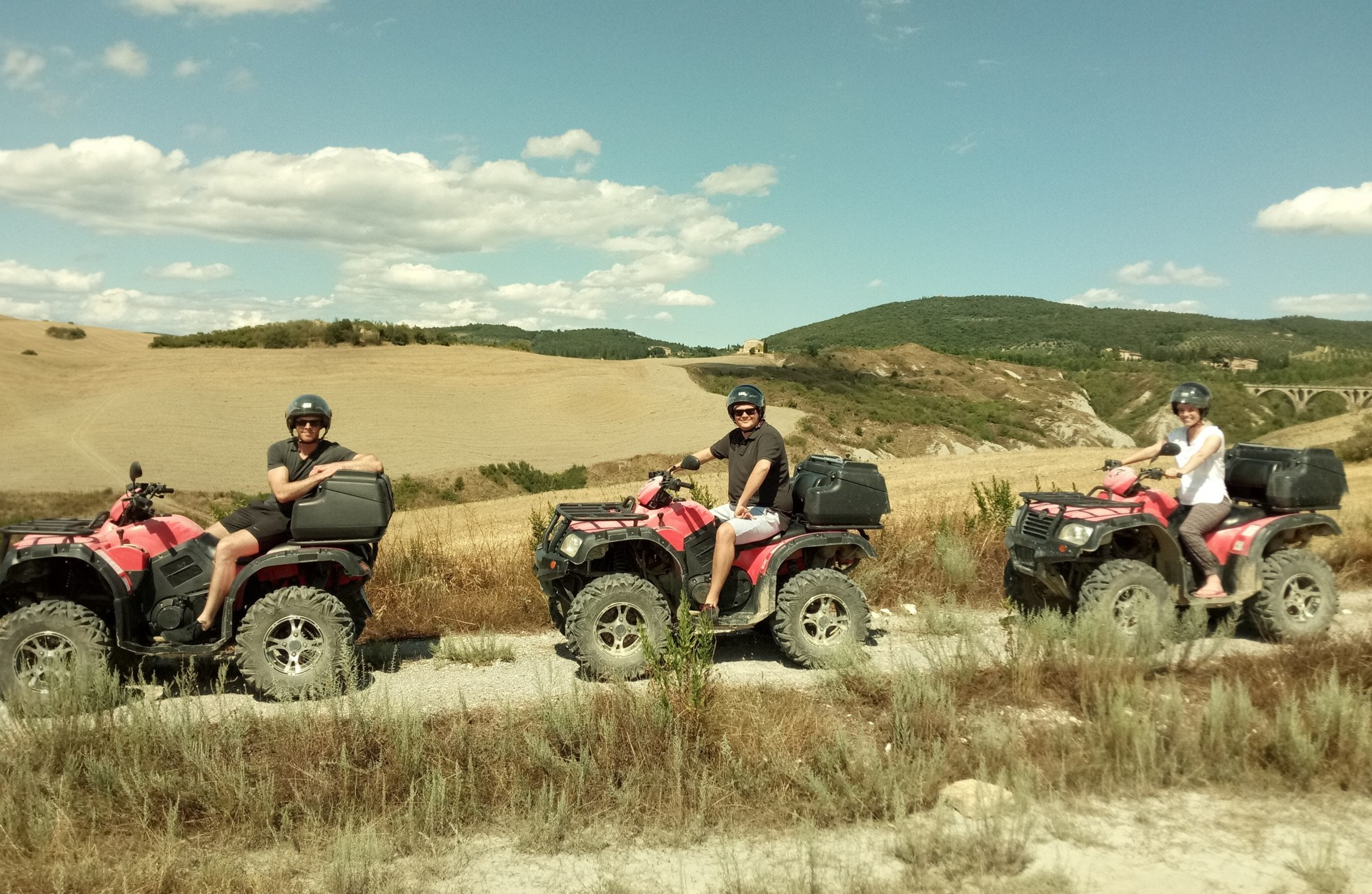 Quad Tour in Toscana con Wine Tasting