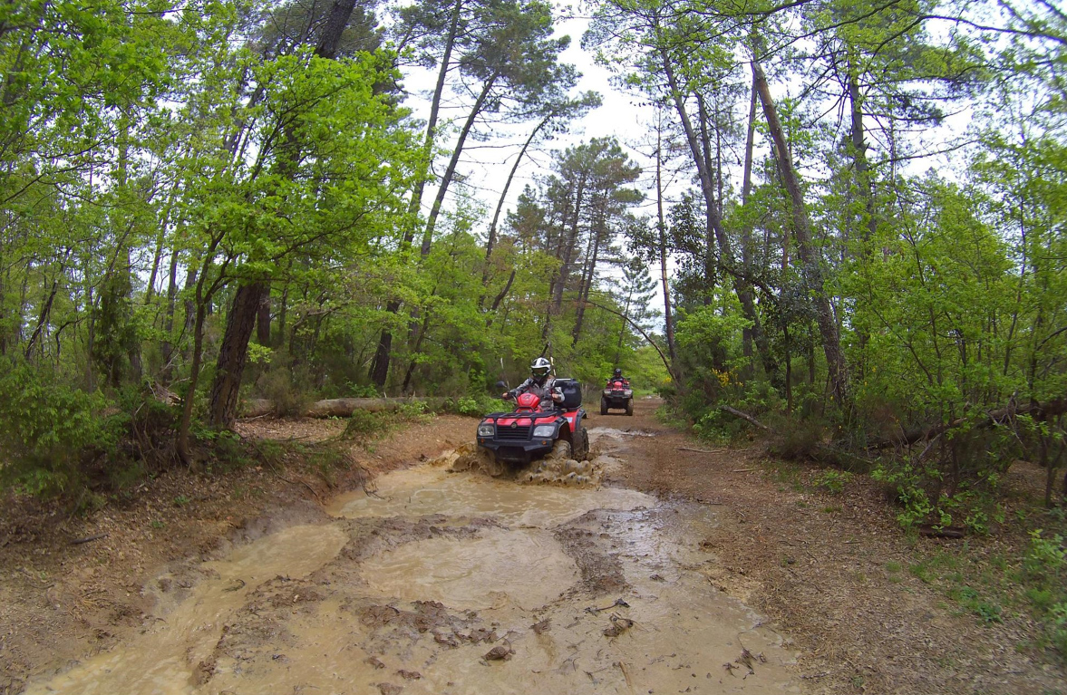Quad Hard Tour in Toscana