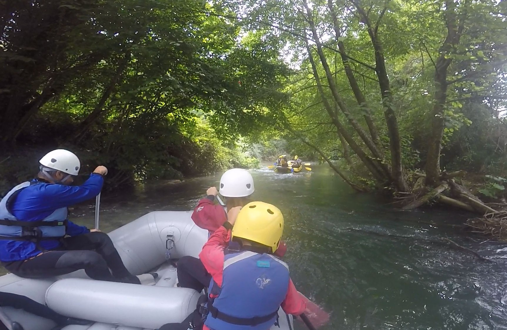 Soft Rafting - From S.Anatolia to Scheggino