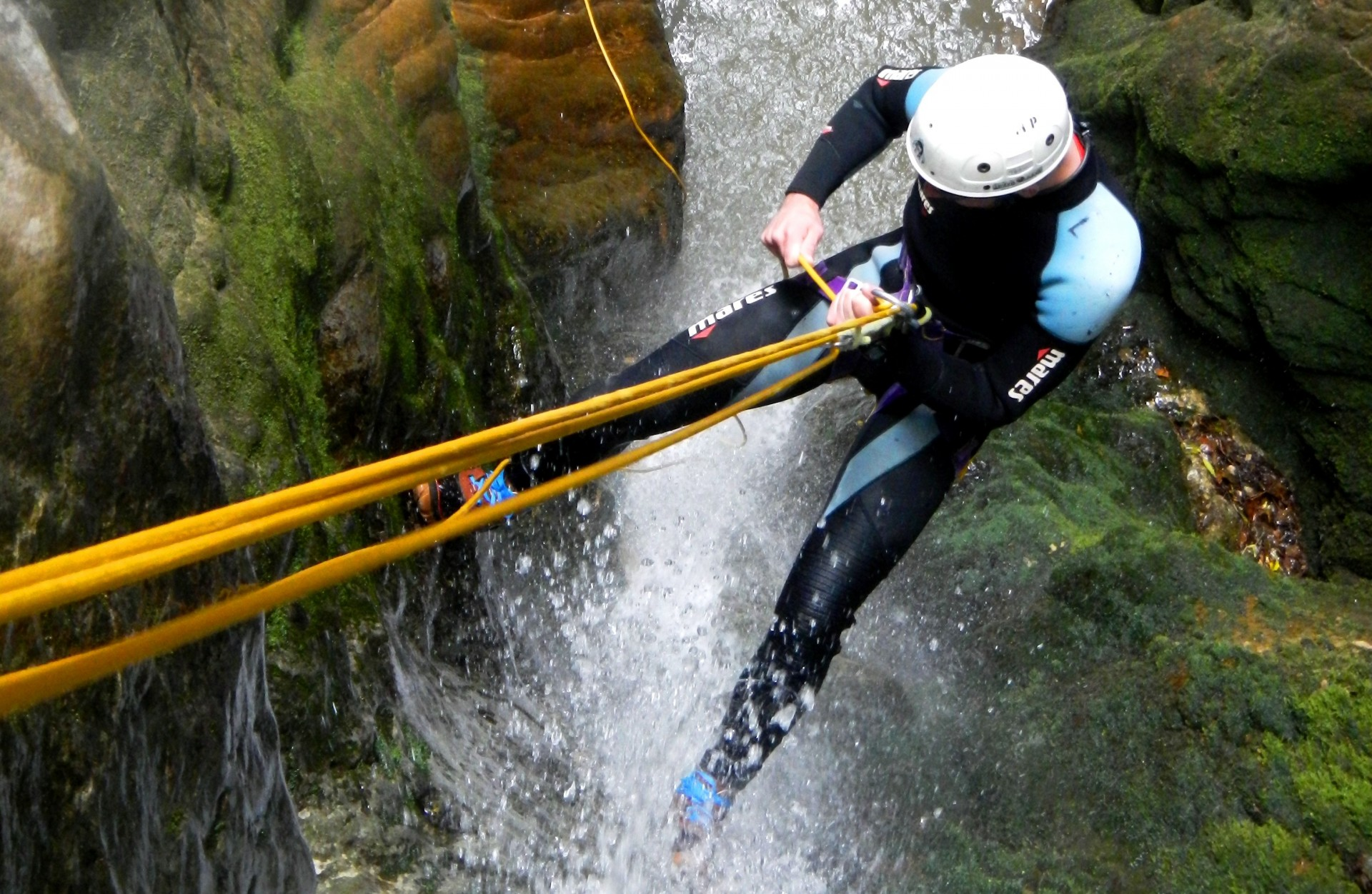Canyoning in Roccagelli Gorge