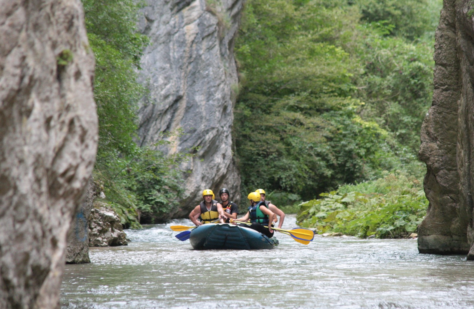Soft Rafting - Corno River from Serravalle to Biselli