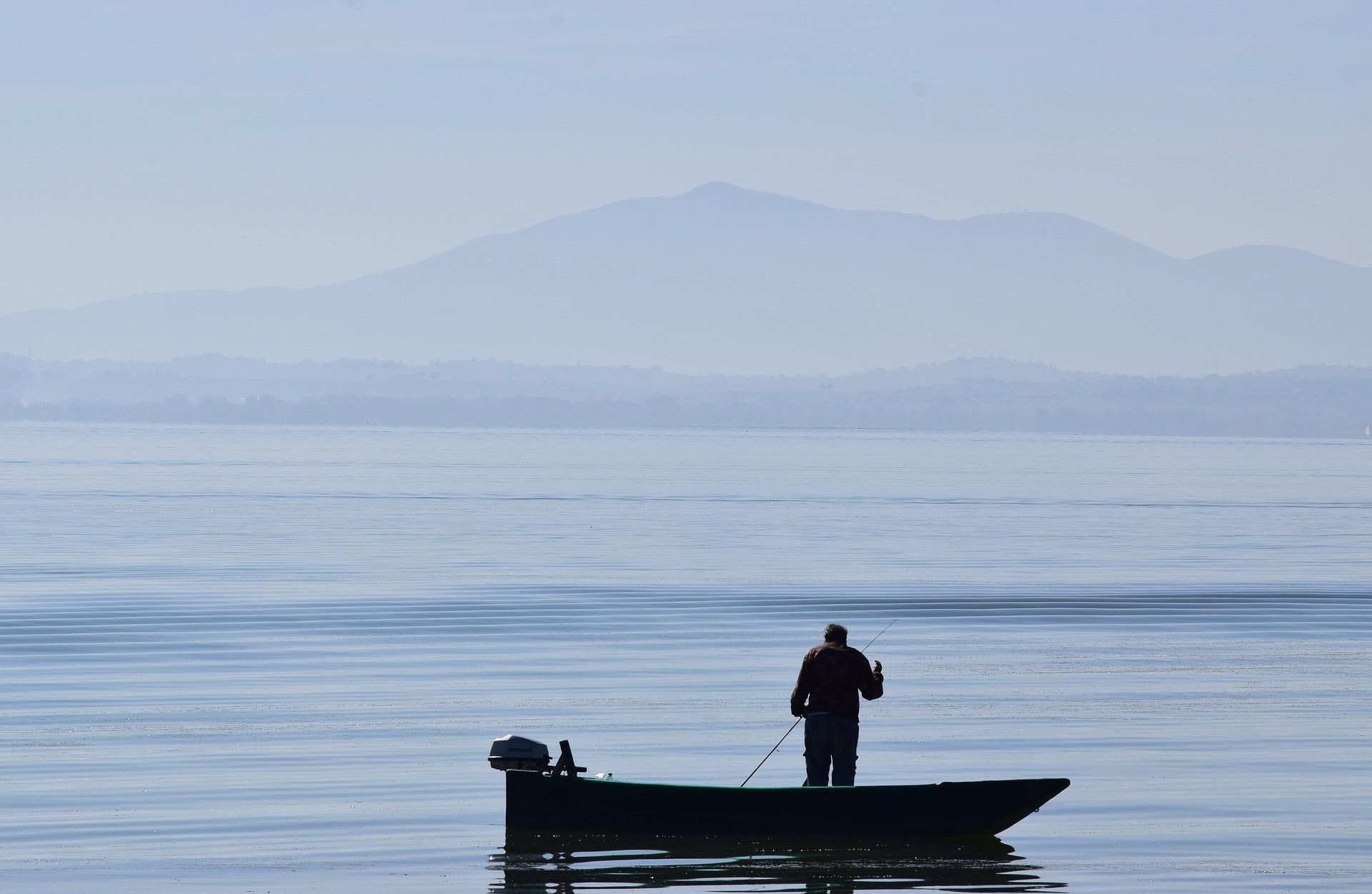 Escursione in barca a motore sul Lago Trasimeno