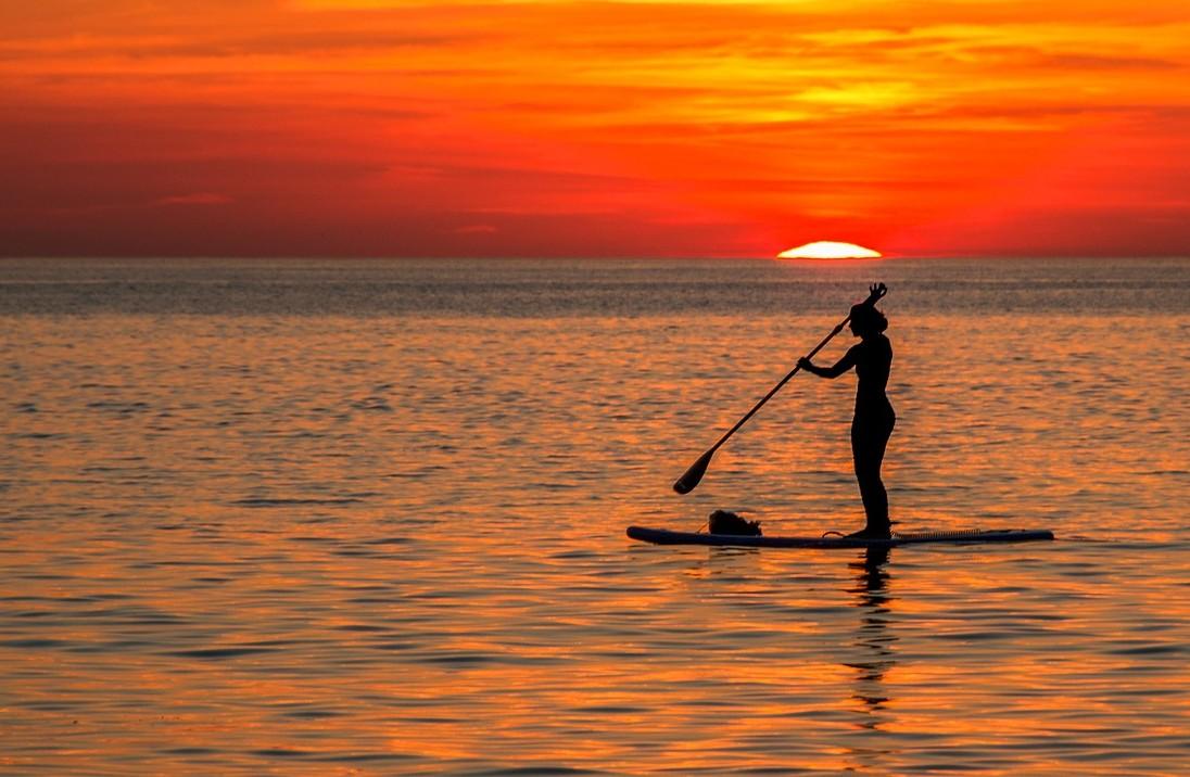 Escursione SUP (Stand Up Paddle) nella baia di Portofino