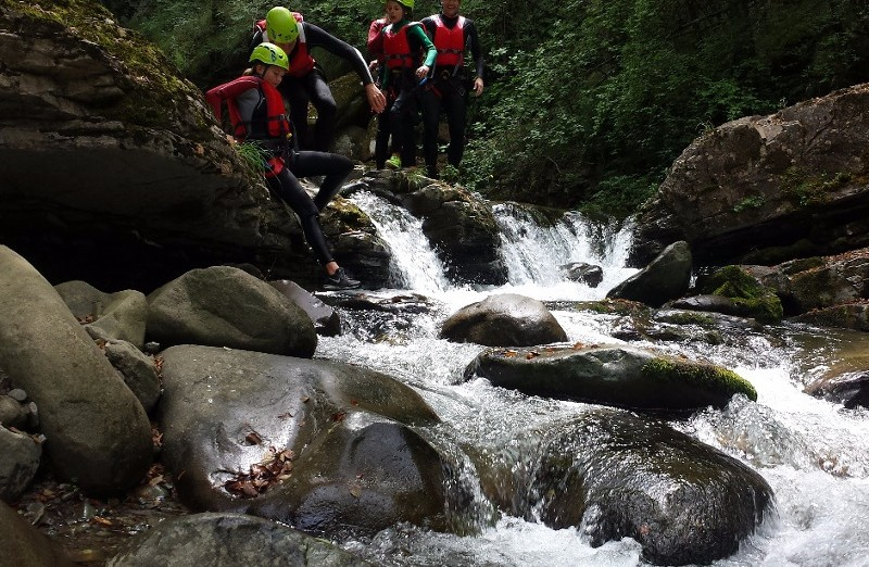 Canyoning Experience Bagnone in Lunigiana