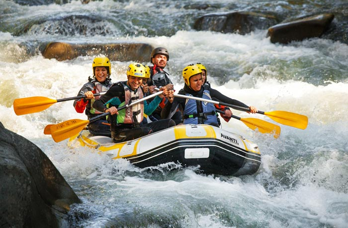 Rafting Full fiume Lima