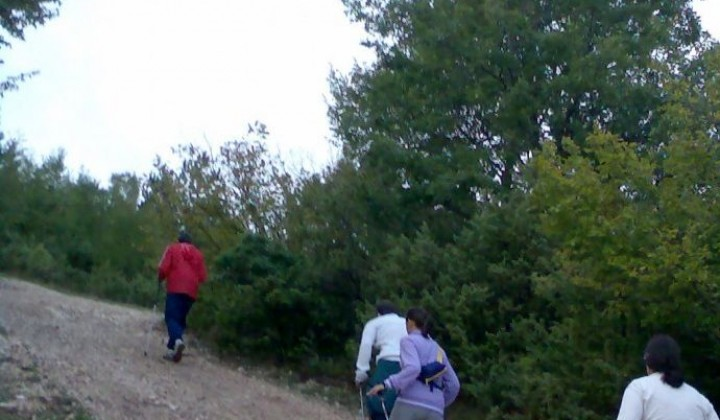 Nordic walking in the National Sibillini Mountains Park