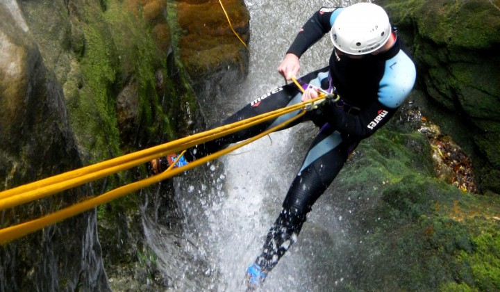 Canyoning Forra Roccagelli
