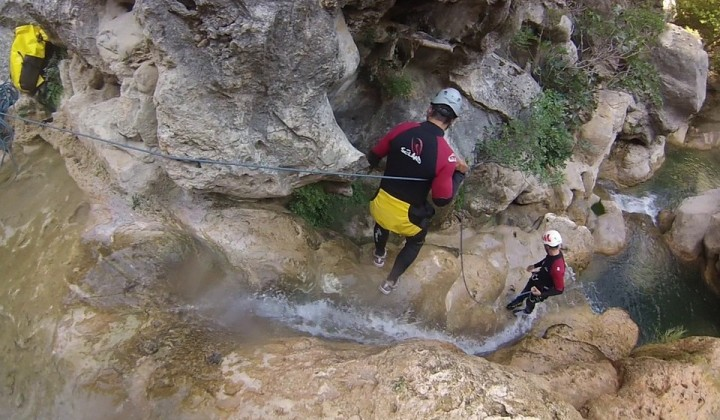 Canyoning Gole del Fosso Maccaiano