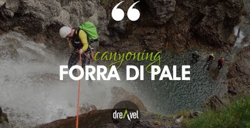 Canyoning Pale gorge