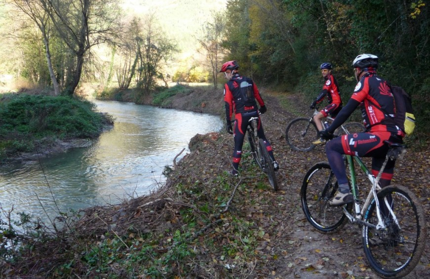 MTB Grand Tour along the Greenway of Nera River
